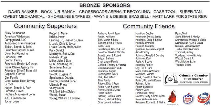 2012 Homecoming Festival Sponsors